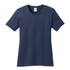 womens tee navy front