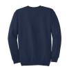 navy long sleeve sweatshirt back