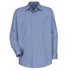 light blue work shirt front