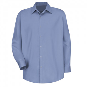 light blue work shirt front