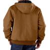 brown coat back