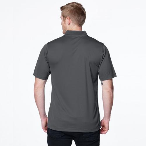 Tri-Mountain Mens K022 Vital Snap S//S Polo Shirt
