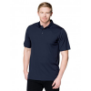 navy polo model front