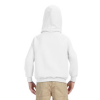child white hoodie back